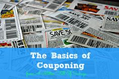The Basics of Couponing - A Mitten Full of Savings