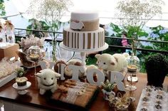 Sheep / Lambs Baby Shower Party Ideas | Photo 1 of 12 | Catch My Party