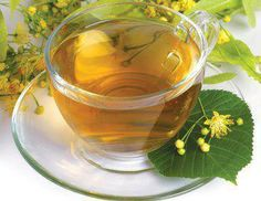 linden flower tea - good for health and delicately scented - one cup is enough as its action is strong and if taken in excess your heard could start to dance as linden fruit in the wind