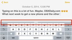 How to Hide & Show the QuickType Suggestion Bar on iOS Keyboard