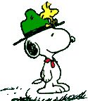 Boy Scout leader Snoopy