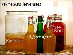 Fermented Beverages..Water Kefir – A Healthy Homemade Soda Alternative
