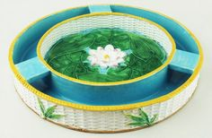 A fine and very pretty George Jones Majolica