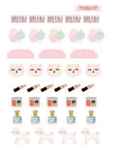 DOWNLOAD: PLANNER BEAUTY DASHBOARD E STICKERS