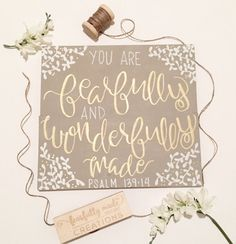 Fearfully & Wonderfully Made Bible by FearfullyMadeCo on Etsy