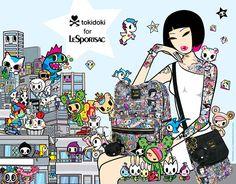 #tokidoki for #LeSportsac 2014 Collection #tokidokilesportsac