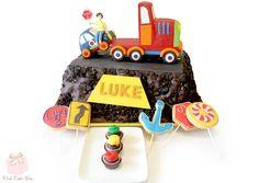 """""""Things that Go"""" Themed Cake for Luke's 3rd Birthday!"""