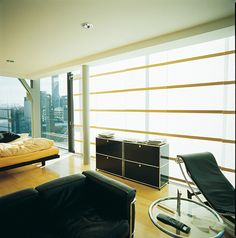 ann idstein® | Panel System | WIndows blinds | Private residence in Zurich, Switzerland