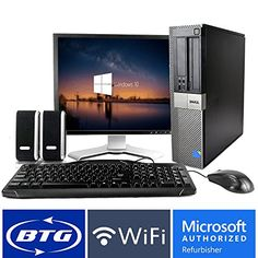 Dell OptiPlex 960 SFF Desktop Core 2 Duo 2.9GHz Processor 4GB Ram 320GB Hard Drive Windows 10 Home 19in Monitor (Brands may vary), Keyboard, Mouse, Speakers, WiFi Adapter Computer Package Dell Optiplex 960 SFF Desktop bundle package Featuring: Core2Duo 2.9GHz CPU, 4GB RAM, 320GB HDD, DVD Player Bundle includes: 19in LCD Monitor (brands may vary), keyboard, mouse, speakers, usb wireless wifi adapter https://technology.boutiquecloset.com/product/dell-optiplex-960-sff-desktop-co