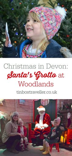 A review of the brand new Woodlands Santa's Grotto in Devon. This grotto takes visitors through nine magical rooms on their journey to see Father Christmas #SantaClaus #Grotto #Christmas #Devon #VisitDevon #ChristmasMagic #familydayout