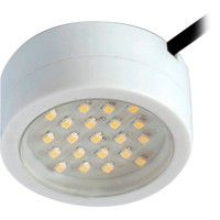 This energy-saving 2 watt LED cabinet light, that can be surface mounted or recessed, uses the latest SMD LED technology and with no lamps to fail will provide years of maintenance free service and will enhance the look of many domestic, entertainment or retail installations such as:  ● Inside cabinet displays  ● Under or on top of wall cabinet's  ● Recessed in stair strings or risers  ● Kitchen kick boards  ● Reception desk lighting  ● Bedroom wardrobes