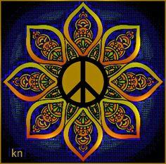 Peace Sign Art ✌❤🤗