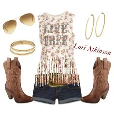 Got My Boots On by lori-atkinson on Polyvore ~~country fashion~~