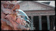 Fontana di Piazza della Rotonda (Pantheon). Roma.