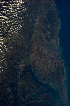 """""""Washington DC, Baltimore, Philadelphia.  Taken October 20, 2013. KN from space."""" ~Karen Nyberg"""
