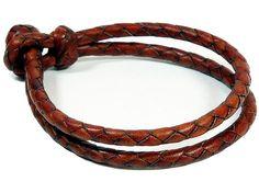 8 Strand Braided Bracelet - Solid Kangaroo