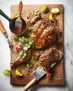 Forget pad Thai – grilled chicken with green papayasalad and sticky rice is the ultimate street food. This showstopper chicken recipe is one to impress...
