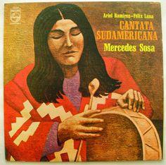 MERCEDES SOSA CANTATA SUDAMERICANA Venezuela Press Lp Vinyl, Vinyl Records, Mercedes Sosa, Folk Music, Artwork, Ebay, Venezuela, People, Work Of Art