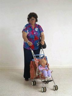 Woman and Child by Duane Hanson