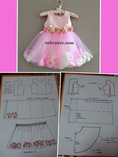 Discover thousands of images about Best 12 – Page 259308891029775505 – SkillOfKing. Frock Patterns, Baby Girl Dress Patterns, Baby Clothes Patterns, Dress Sewing Patterns, Little Girl Dresses, Princess Dress Patterns, Toddler Sewing Patterns, Baby Sewing, Dress Anak