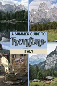 Find out what are the reasons to visit Trentino, Italy, in the summer. Discover all the things to do in Trentino, the best places to visit in Val di Fassa and Val di Fiemme, and how to make the most of your holiday |#italy #dolomites via @clautavani
