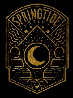 Springtide Festival on Behance