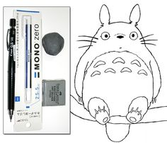 How to draw Totoro introduction for beginners and intermediate.