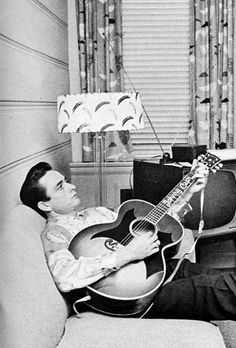 For music: early Johnny Cash