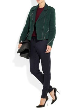 3.1 Phillip Lim | Fleece biker jacket | NET-A-PORTER.COM