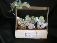 Altered Inspiration with Kathi Hello, Quick Quotes fans, today I have created a very simple flower pot caddy, using small terracotta flower pots, Styrafoam balls featuring the Chiffon and Farmhouse paper collections.