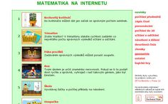 TOP SITES pro učitele 1.stupně ZŠ Top Site, Esl, Mathematics, Parents, Teacher, Education, Cuba, Geometry, Math