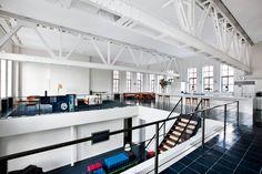 #Loft à #New York dans une ancienne salle de #basketball