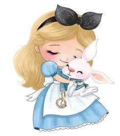 Cute Disney Pictures, Disney Princess Pictures, Cute Tumblr Wallpaper, Cute Disney Wallpaper, Baby Disney, Disney Art, Alice In Wonderland Tea Party Birthday, Wonderland Alice, Cinderella Cartoon