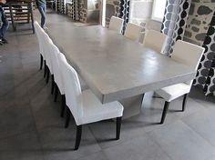 Pinterest ein katalog unendlich vieler ideen - Table salle a manger beton cire ...