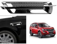Mahindra XUV 500 2018 Car Air Flow Side Vent Exterior Duct Set of 2 ( Type -1 ) Price-300/- Car Body Cover, Maruti Suzuki Alto, Suzuki News, New Car Accessories, Police Lights, Reverse Parking, Go Car, Wooden Car, Roof Rails