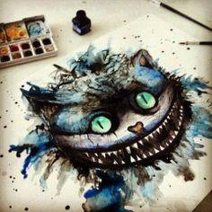 Tim Burton Cheshire Cat