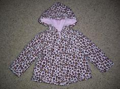 Gymboree Kitty Glamour Leopard Print Jacket Girls 2T Free Shipping