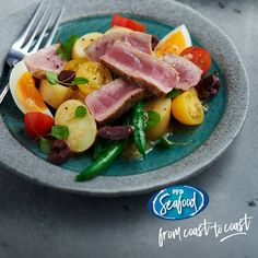 Take this delicious classic Nicoise salad on a trip around the world! Switch the tuna for salmon and serve with a coconut, chilli and peanut sauce.  PRODUCT CODE: 027051 - Fresh Yellowfin Tuna Fillet Skinless