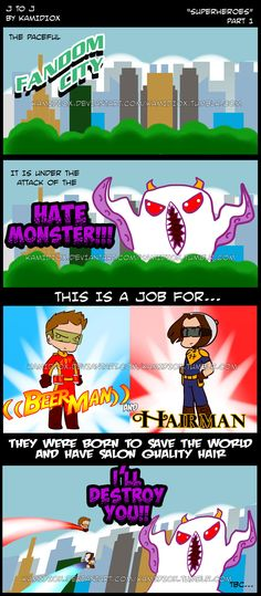 JtoJ: Superheroes Part 1 by KamiDiox.deviantart.com on @DeviantArt