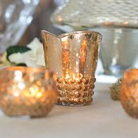 Wedding Glass Votive Cup in Rose Gold.jpg
