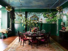 2017 Kips Bay Decorator Show House Ken Fulk's Maximalist Dining Room