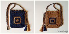 Handbag de Crochê por Bruna Szpisjak em parceria com a Círculo S/A. Receita disponível no site:http://www.ganhemaiscirculo.com.br/faca-voce-handbag-encanto/