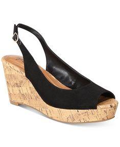 dfe3f056506a Image 1 of Style  amp  Co Sondire Platform Wedge Sandals
