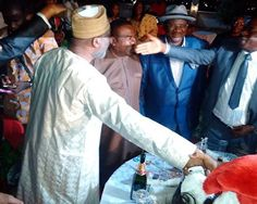 Dokpesi Leaves Prison, Heads Straight To A Party (Photo) - http://www.77evenbusiness.com/dokpesi-leaves-prison-heads-straight-to-a-party-photo/