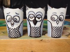 Toilet roll owls