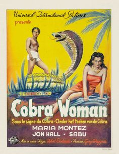 Cobra Woman, 1944