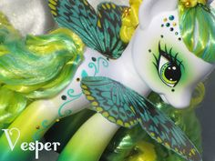 Vesper- G4 Fashion Style pony by Darkhorse    (on eBay right now, if anyone can afford her. I know I can't! XD )