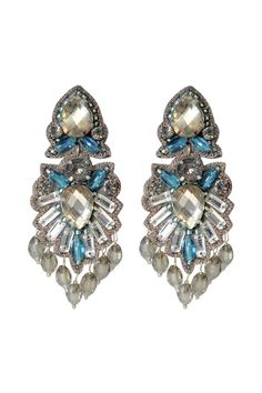 Fontana di Trevi Earrings by Suzanna Dai. Retails for $185.