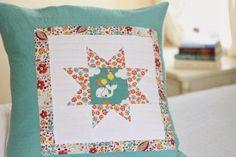 FREE PATTERN: Frolic Floor Pillow (from Birch Fabrics)