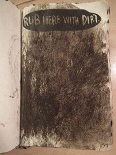 Wreck This Journal - Dirt